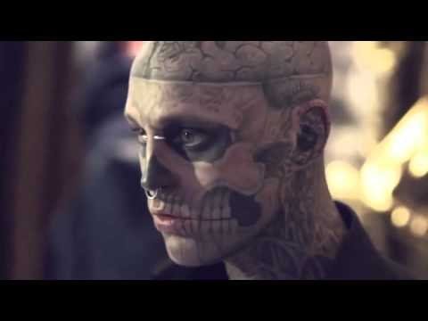 Rick Genest by Nicola Formichetti for Thierry Mugler