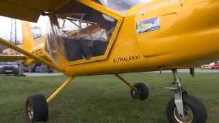 Lot Widokowy Samolotem w Kamieniu Śląskim video