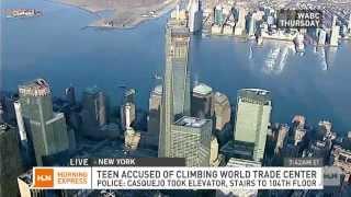 HLN~NJ Teen Reaches Top of 1 World Trade Center