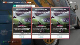 Forza Horizon 4 - Weekly Challenge Autumn Forzathon with 2011 Ford Transit | Xbox one gameplay
