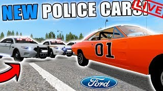 COPS VS. ROBBERS | FORD TAURUS POLICE CARS | SUBSCRIBERS WELCOME | FARMING SIMULATOR 2017