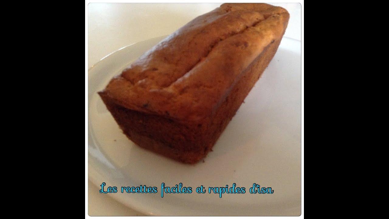 Pain De Cake Rapide Banane