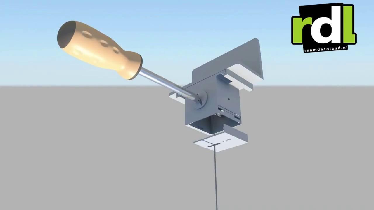 Montage instructies: standaard plissé gordijnen monteren met klemfix
