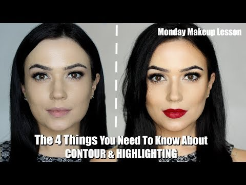How To Contour and Highlight For Beginners   THE FOUR STEPS YOU NEED TO KNOW!