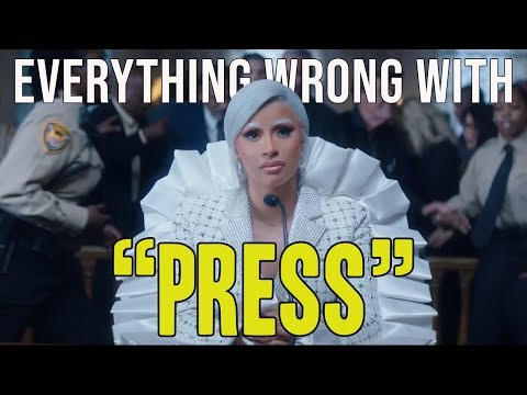 """everything-wrong-with-cardi-b---""""press"""""""