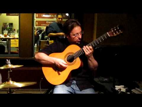 David Wayne Plays 'Hotel California' At Downtown Disney- Anaheim, California