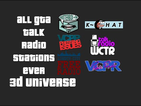 All GTA Talk Radio Stations Ever (Part 1)