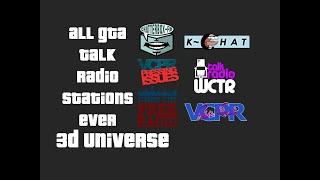 All GTA Talk Radio Stations Ever (Part 1)