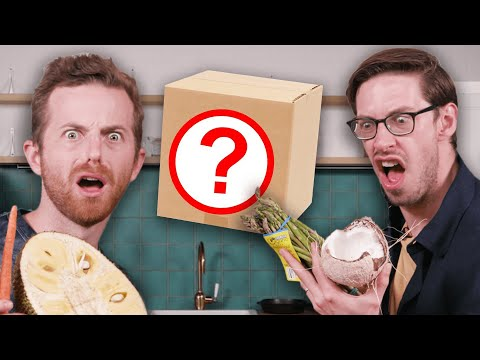 Try Guys Swap Mystery Cooking Boxes - The Try Guys