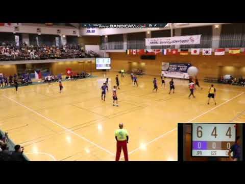 Kin-Ball World Cup 2017 Japan - Suisse / Rep Tcheque / Japon H P1