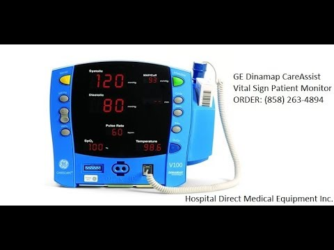 GE Dinamap Carescape V100 Patient Monitor   Used Hospital ... on