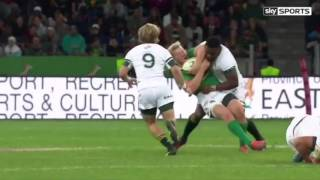 South Africa vs Ireland 3rd test highlights Rugby 2016