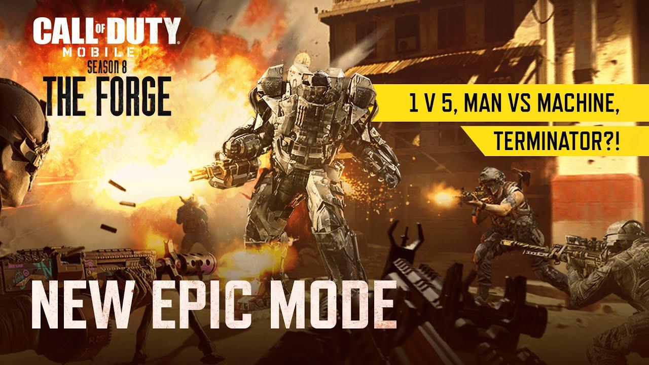 Season 8 New Featured Mode Juggernaut Call Of Duty Mobile Garena Youtube