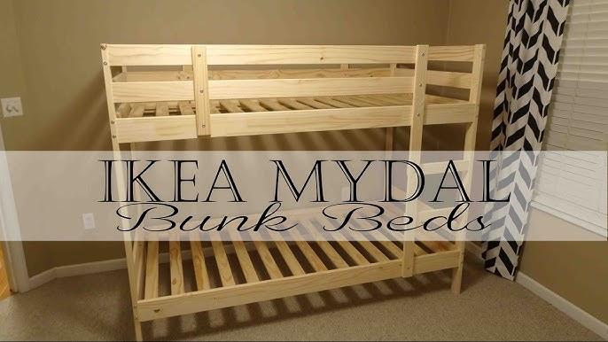 Ikea Mydal Bunk Beds Youtube