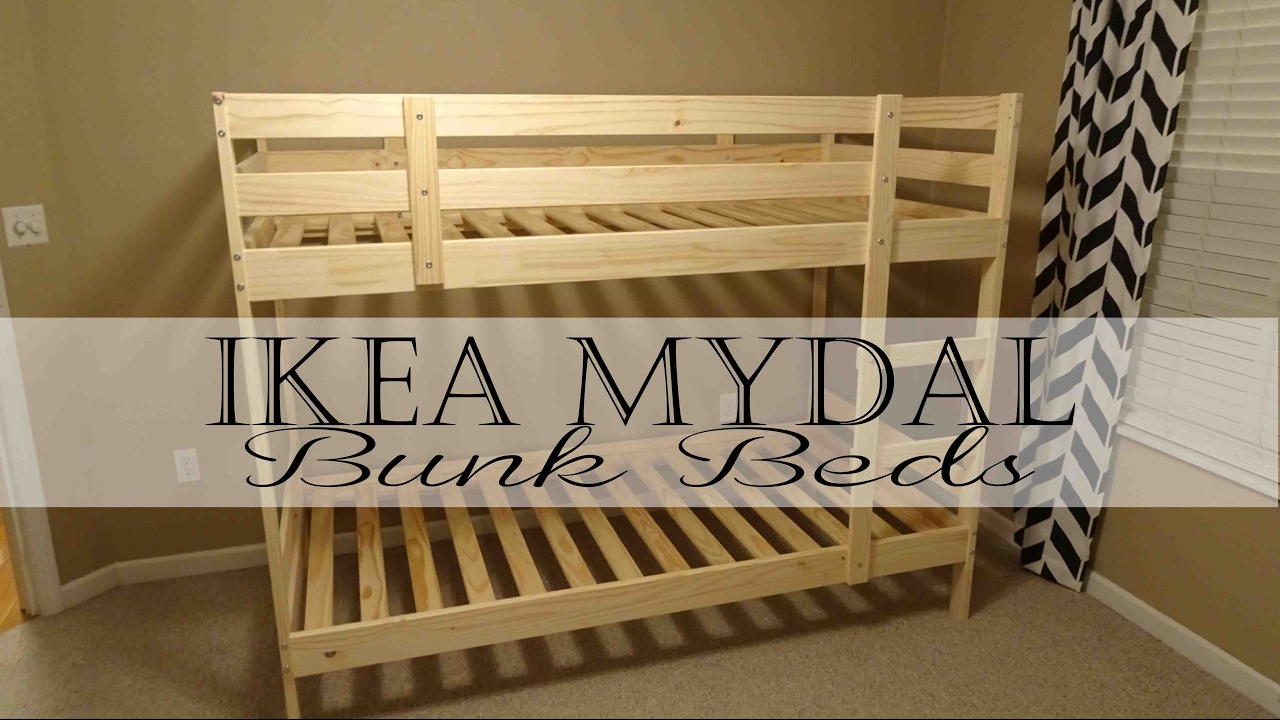Ikea Mydal Bunk Beds Youtube