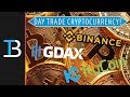 How To Day Trade Cryptocurrency (The Best Places To Trade Cryptocurrency)