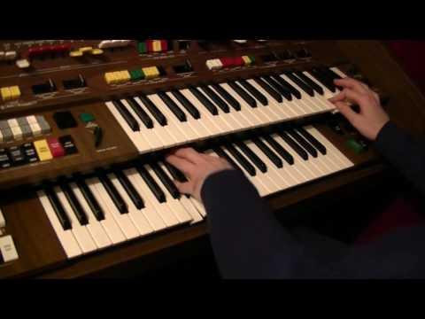Moonraker (James Bond Theme) / by Philip Jones on Yamaha Electone C-605