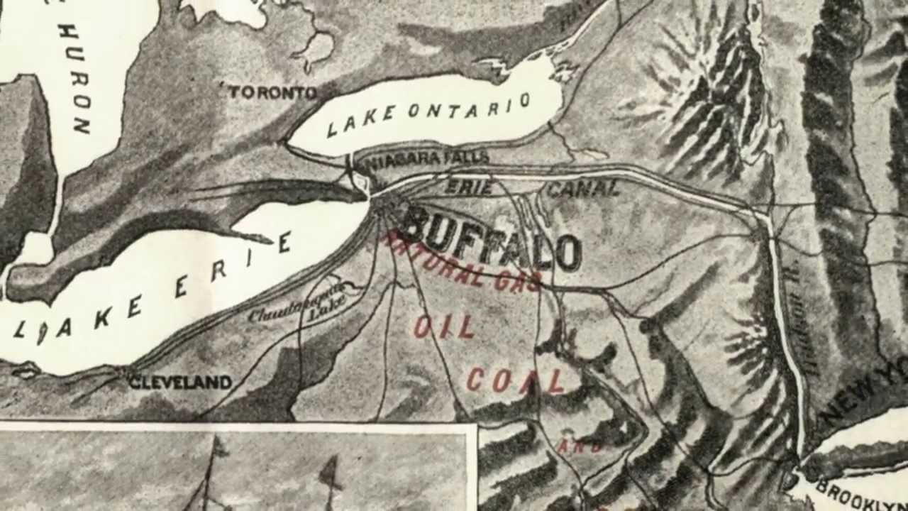 The Best Planned City Olmsted Vaux And The Buffalo Park System - YouTube
