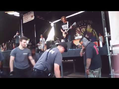Parker Cannon from TSSF VS security guard