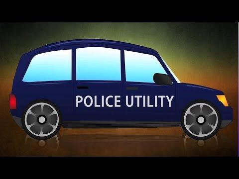 police utilitaire van | Vidéos éducatives | Vidéos enfants | Vehicles For Kids | Police Utility Van