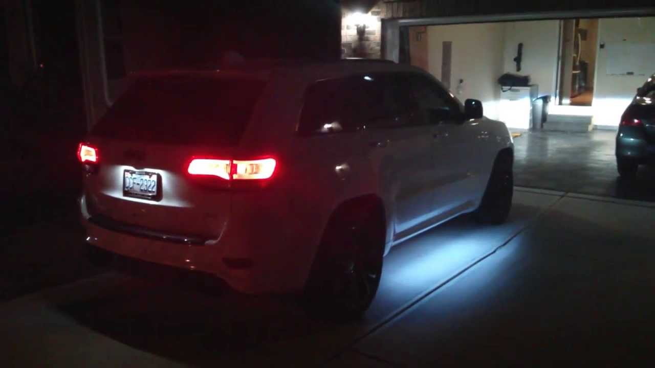 Jeep Srt Interior >> LED entry / puddle light mod on 2014 Jeep SRT - YouTube