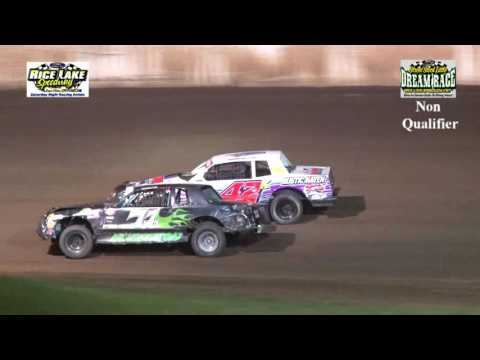 August 2, 2016 Rice Lake Speedway Street Stock Little Dream