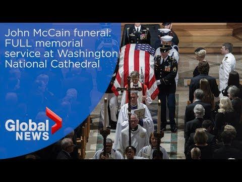 Sen. John McCain FULL memorial service in Washington, D.C.