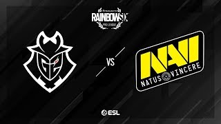 G2 Esports vs Natus Vincere – Kafe – Rainbow Six Pro League – Season X – EU