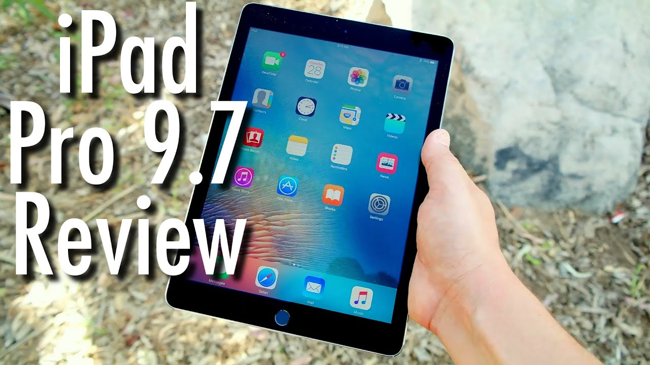 apple ipad pro 9 7 tablet review is it really for work youtube. Black Bedroom Furniture Sets. Home Design Ideas