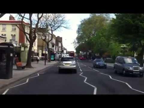 London streets (30.) - St. John street - Angel - Emirates stadium - Alexandra palace