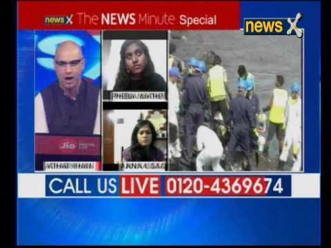 Chennai Oil Spill: NewsX exposes 'Man made' disaster