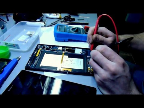 Sony Xperia Z3 Tablet Compact разборка Teardown/Take Apart/ Disassembly
