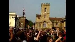 Royal Wedding Bun Throwing - Abingdon-on-Thames - 29th April 2012
