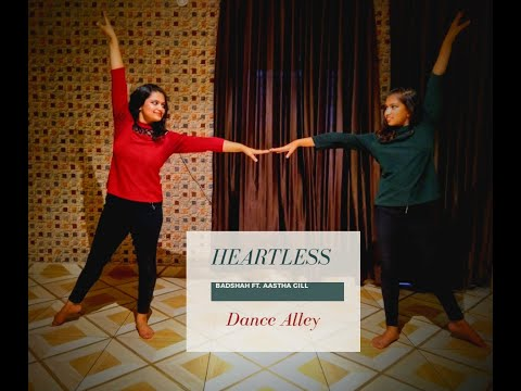 Heartless | Badshah Ft. Aastha Gill | Dance Alley | Sheena Thukral | Contemporary