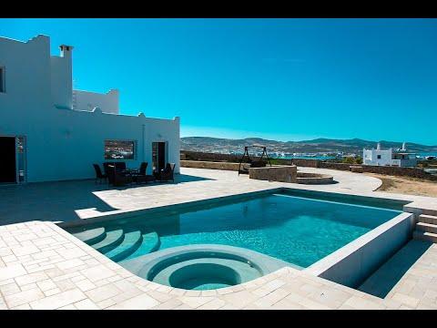 Seafront Villa in Antiparos Island, Luxury Homes in Greek Islands