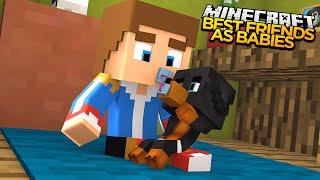 Minecraft - Donut the Dog Adventures -BEST FRIENDS AS BABIES!!!!