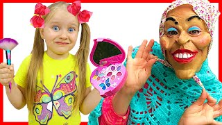 Няня Настя и Забавная история детей | Правила поведения для детей