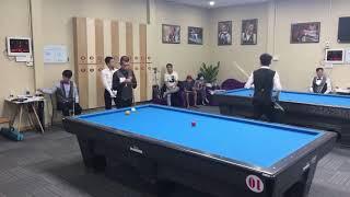 Trần Quyết Chiến vs Đặng Minh Trân. Billiards Vietnam