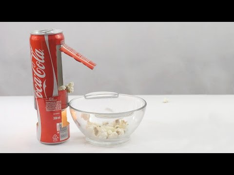 Thumbnail: How to Make Popcorn Machine With Coke Can