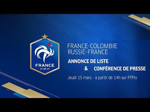 Jeudi, Equipe de France : Annonce de liste et conférence de Didier Deschamp en direct (14h)