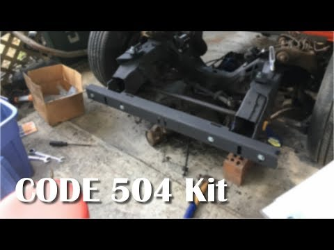 I Start Installing My Code 504 Kit For The Frame Swap