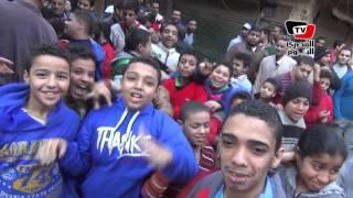 أهالي «حدائق المعادي» يحتفلون بتصفية خلية إرهابية
