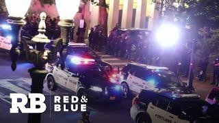 Portland police blame police legislation for protest damage