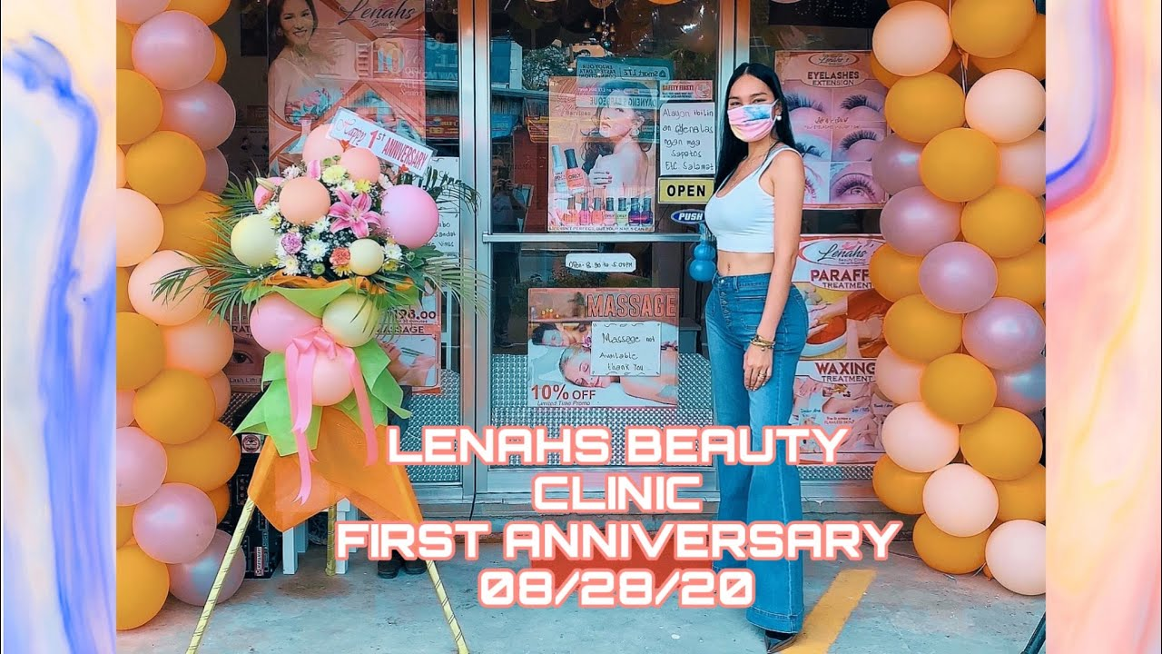 First Year Anniversary Of Lenahs Beauty Clinic