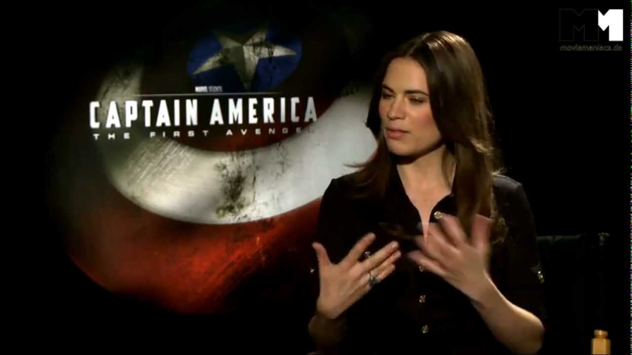 Captain America : The First Avenger | Hayley Atwell interview US (2011)