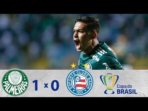 Melhores Momentos - Palmeiras 1 x 0 Bahia   Copa do Brasil (16/08/2018)