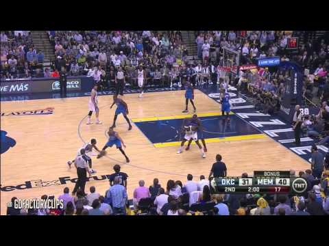 Kevin Durant Full Highlights at Grizzlies 2014 Playoffs West R1G3 - 30 Pts, 9 Reb, 5 Blks