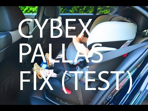 cybex pallas fix unboxing montage kindersitz gruppe. Black Bedroom Furniture Sets. Home Design Ideas