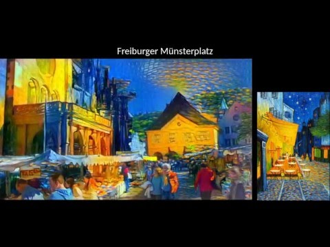Artistic style transfer for videos