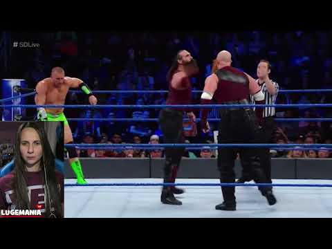 WWE Smackdown 11/21/17 Bludgeon Brothers vs Hype Bros
